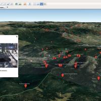 Localización de puntos de agua en la Sierra de Guadarrama y alrededores