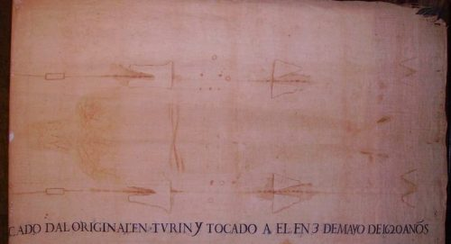 Sábana Santa de Torres de la Alameda. Foto: Obispado de Alcalá de Henares.