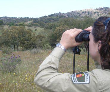 agente-forestal-en-plena-vigilancia-contra-incendios