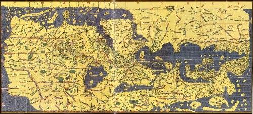 Mapamundi perteneciente a la Tabula Rogeriana.