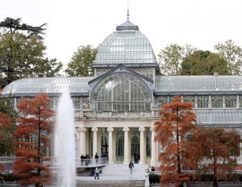 Palacio de Cristal. Foto: Ayto. Madrid.
