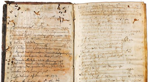 Manuscrito De rebus Hispaniae, Foto: bibliorare.com.