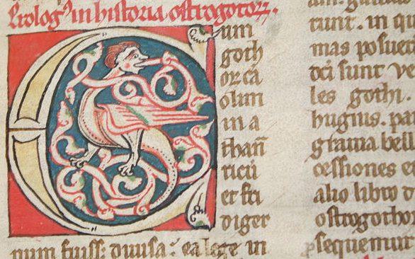 Manuscrito De rebus Hispaniae. Foto: Masherrador.
