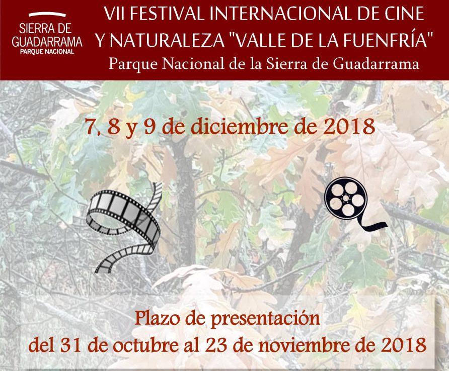 VII Festival Internacional de Cine y Naturaleza 'Valle de La Fuenfría'.