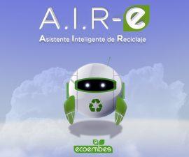 Ecoembes lanza A.I.R-E, el primer asistente virtual de reciclaje.