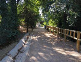Tres nuevas sendas ecológicas amplían los usos recreativos del río Manzanares. Foto: Ayto. Madrid.