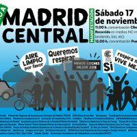 Greenpeace apoya 'Madrid Central' como medida clave para reducir la contaminación