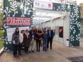 La Feria Mercado de Artesanía se ubicará este año en el Paseo de Recoletos.