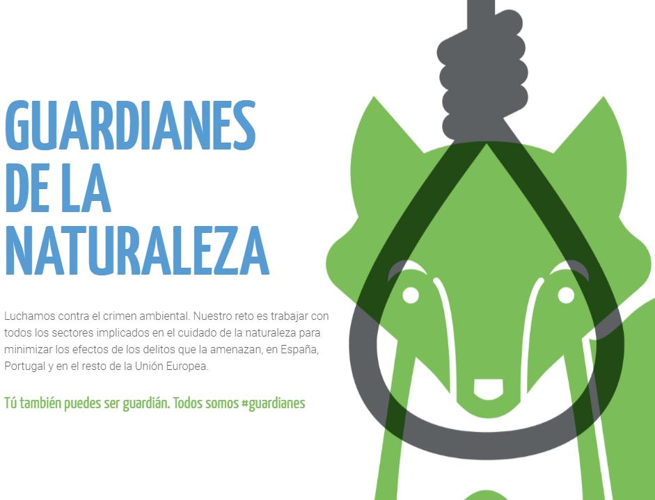 Guardianes de la Naturaleza, implicados en la lucha contra los delitos ambientales.