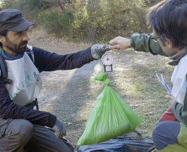 88 colectivos participan en la caracterización de la 'basuraleza' de los entornos terrestres.