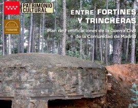 """Guadarrama acoge la exposición itinerante """"Entre fortines y trincheras""""."""