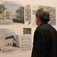 Estudiantes alemanes plantean cómo podría ser el Museo de la Batalla del Jarama de Morata