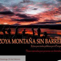 Arrancan las nuevas rutas de 'Lozoya sin barreras'