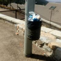 Denuncian la acumulación de basuras en el Puerto de Navacerrada