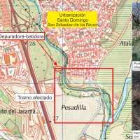 Reclaman el fin de los vertidos de aguas fecales al río Guadalix