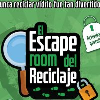 """Escape Room"" del reciclaje en El Escorial"