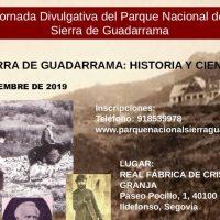 V Jornada Divulgativa del Parque Nacional de la Sierra de Guadarrama