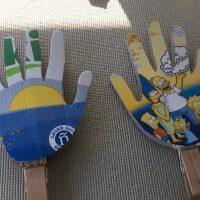 'Aplaudidores' reciclados, el homenaje más 'eco' a los que están al frente en la lucha del COVID-19