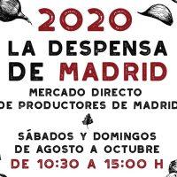 La Comunidad reanuda este fin de semana el mercado itinerante 'La despensa de Madrid'