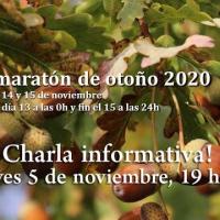 Charla informativa sobre el Biomaratón de Otoño