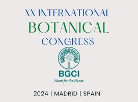 Save the Date XX Congress BGCI