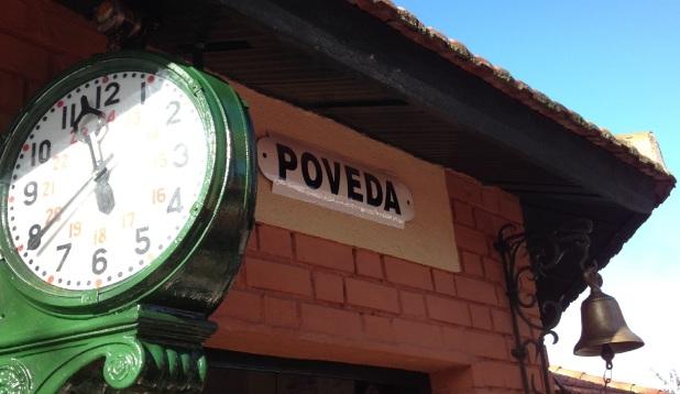 Estación de La Poveda.