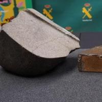 El MNCN recibe un fragmento del meteorito de Reliegos recuperado por la Guardia Civil