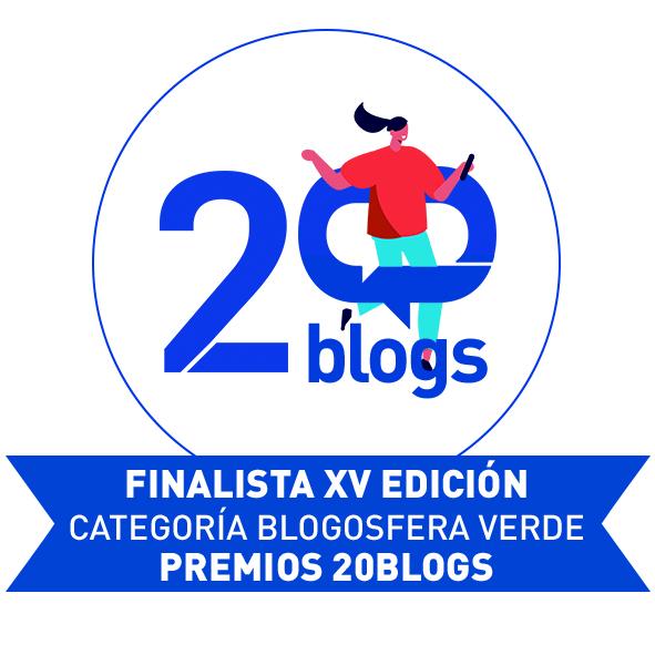 Sello finalista categoría Blogosfera Verde